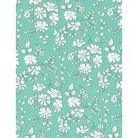 Liberty Capel Turquoise coloris T  20x135 cm