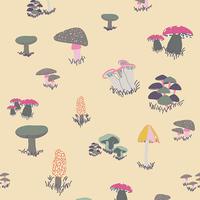 Tissu Fantasia Agaricus Forest Froth 20 x 110 cm