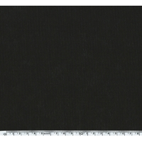 Velours Milleraies noir 20 x 145 cm