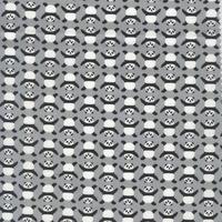 Tissu Panda Gris 20 x 110 cm