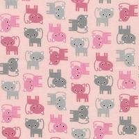 Tissu Urban Zoology Mini Chats 20 x 110 cm