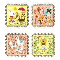 Tissu Whimsical Storybook 60 x 110 cm