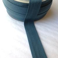 Biais Première Etoile uni bleu canard 1m