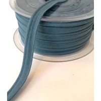Passepoil Première Etoile Uni Bleu canard 1m