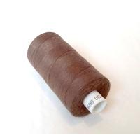 Bobine de fil à coudre chocolat 1000m