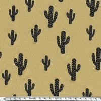 Cactus, jersey viscose miel 20 x 140 cm