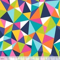 Tissu Colorific kaleidoscope 20 x 110 cm