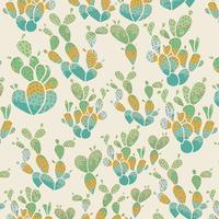 Tissu Succulence Everlasting Cacti Terrain 20 x 110 cm