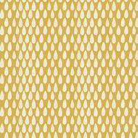 Tissu Succulence Abundance Sandstorm fond moutarde 20 x 110 cm