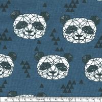 Jersey Panda origami 20 x 160 cm