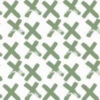 Jersey Croix vertes 20 x 160 cm