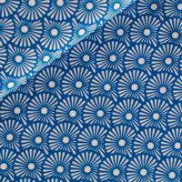 Popeline Blowballs bleu 20 x 140 cm