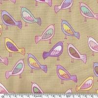 Tissu Oiseaux nordiques 20 x 110 cm