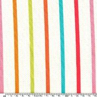 Tissu Rayures vintage 20 x 110 cm