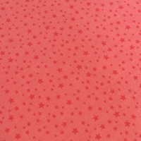 Tissu Rodeo Rider mini étoiles fond rose 20 x 110 cm