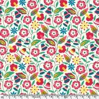 Liberty Bobo groseille coloris C 20 x 137 cm