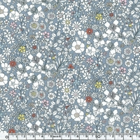 Liberty June's Meadow bleu jean coloris F 20x137 cm