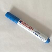 Feutre pour textile pointe 2/3 mm coloris bleu vif