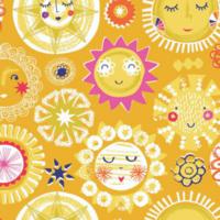 Tissu Rain or Shine Soleil 20 x 110 cm