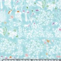 Liberty Yoshi Small menthe coloris D 20 x 137 cm