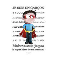 Coupon Je suis un garçon par Virginie Berne Illustrations env. 17 x 24 cm (popeline)