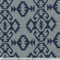 Sweat Tcho Pépé fond gris 20 x 140 cm