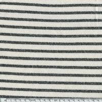 Sweat Marinière coloris noir 20 x 140 cm