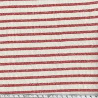 Sweat Marinière coloris Charlie (rouge) 20 x 140 cm