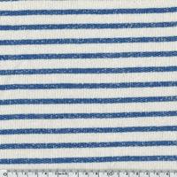 Sweat Marinière coloris Jean-Paul (bleu vif) 20 x 140 cm