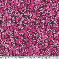 COUPON Liberty Denim Wiltshire rose 1m x 137 cm
