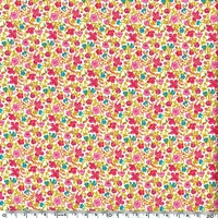 EXCLU Liberty Velours Helena's Meadow Rose 20 x 140 cm