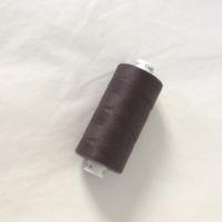 Bobine de fil à coudre poivre gris 1000m