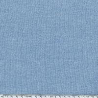 Molleton uni bleu chiné 20 x 140 cm