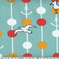 Jersey Oiseaux marins 20 x 150 cm
