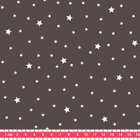 Tissu Première Etoile coloris Poivre Gris 20 x 140 cm