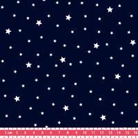 Tissu Première Etoile coloris Marine 20 x 140 cm
