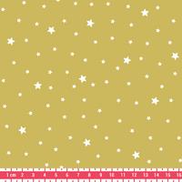 Tissu Première Etoile coloris Fenouil 20 x 140 cm