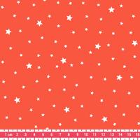 Tissu Première Etoile coloris Pamplemousse 20 x 140 cm
