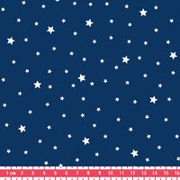 Tissu Première Etoile coloris Blueberry 20 x 140 cm