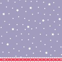 Tissu Première Etoile coloris Lavande 20 x 140 cm