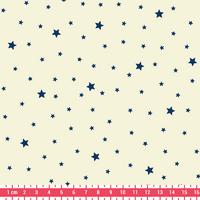 Tissu Première Etoile coloris Cookie Blueberry 20 x 140 cm