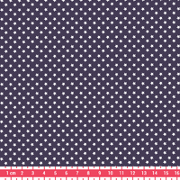 Tissu Première Etoile mini star coloris Prune 20 x 140 cm