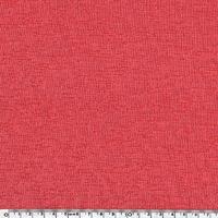 Jersey flammé corail 20 x 160 cm