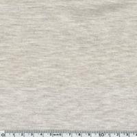 Jersey 95% coton 5% spandex beige chiné 20 x 140 cm