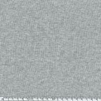 Bord-côte milleraies gris chiné clair 20 x 72 cm