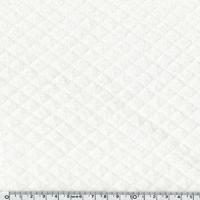 Jersey matelassé blanc cassé 20 x 150 cm