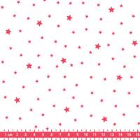Tissu Première Etoile FLUO coloris chantilly 20 x 140 cm
