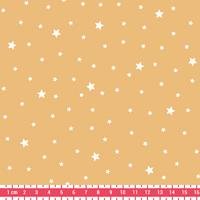 Tissu Première Etoile coloris Crème Pâtissière 20 x 140 cm