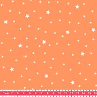 Tissu Première Etoile coloris Melon 20 x 140 cm