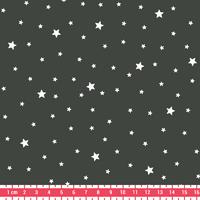 Coupon de tissu Première Etoile IMPRIME coloris kaki 1m x 140 cm